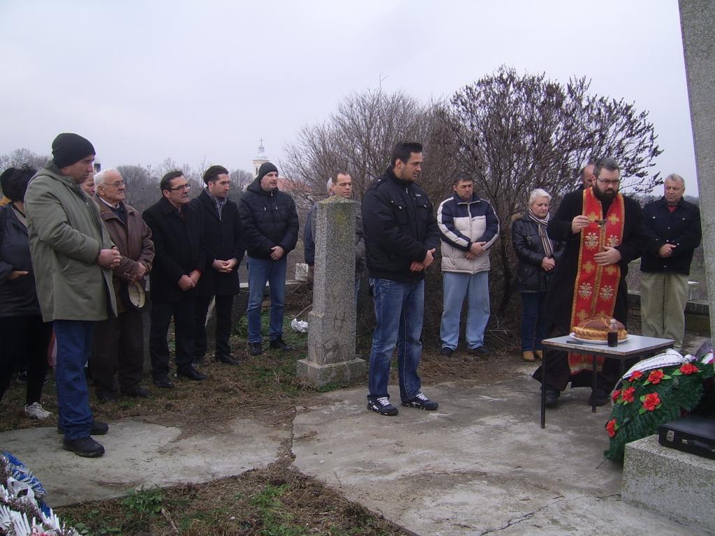 BANATSKO ARANDJELOVO POLAGANJE VENACA 9 JANUAR